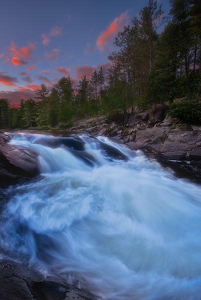 Sunset at Chutes Provincial Park