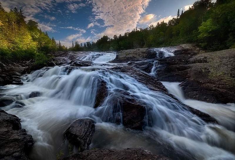 Sand River Falls, Lake Superior Provincial Park