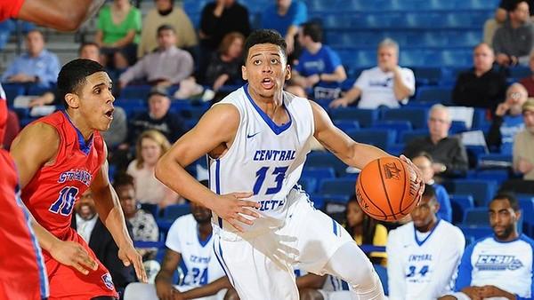 CCSU men's basketball 11-12
