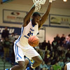 11/30/17   Wesley Bunnell | Staff<br /> <br /> CCSU Men's Basketball defeated North Carolina A&T on Thursday evening at Derrick Gymnasium in New Britain. Joe Hugley (21).