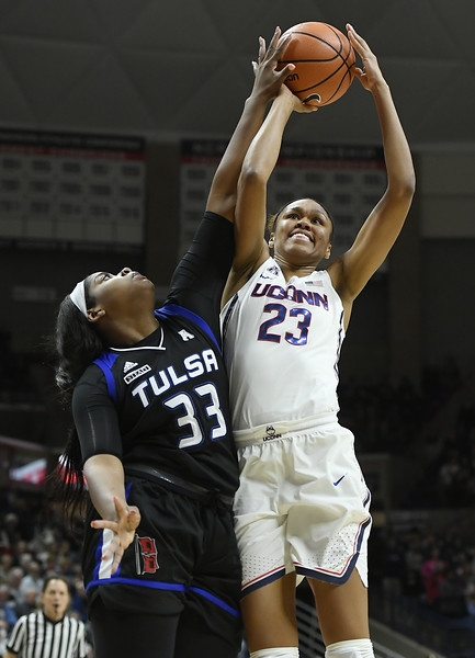 Tulsa UConn Basketball