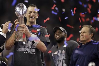 Patriots Falcons Super Bowl Football