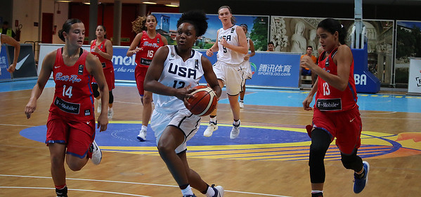 The 2017 USA Basketball Women's U19 World Cup Team defeated Puerto Rico 104-46 in the FIBA U19 World Cup round of 16 on July 26, 2017, in Cividale del Friuli, Italy.