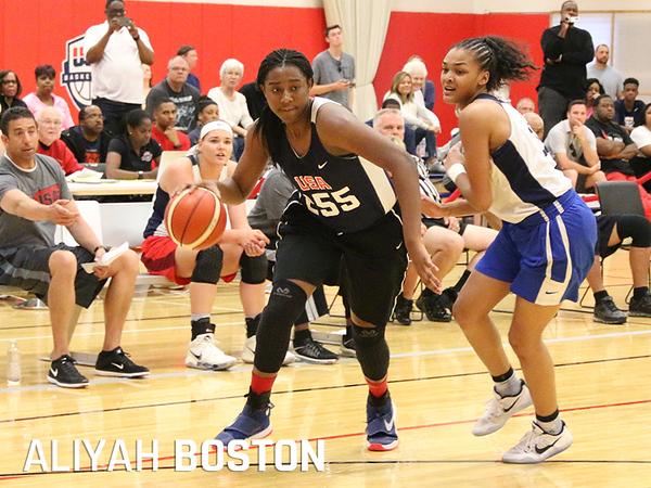 UConn Aliyah Boston 9-18-18