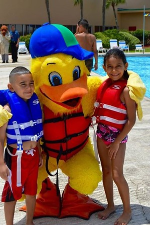 Stewie the Duck and kids