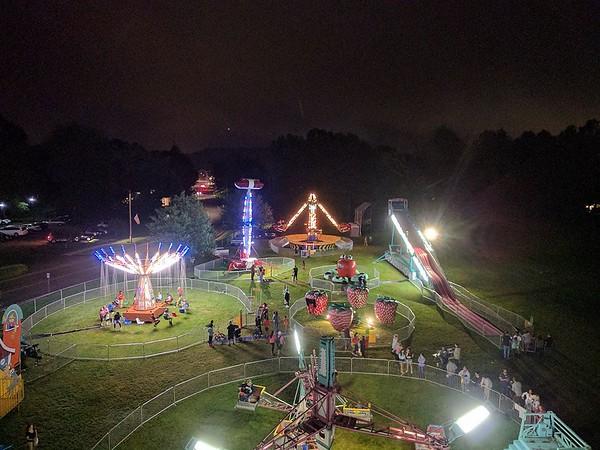 Nighttime Aerial Carnival