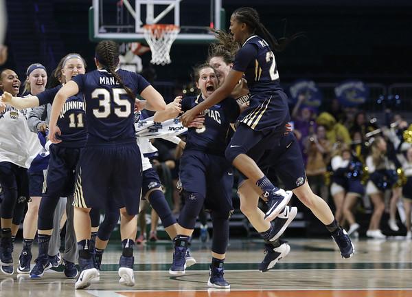NCAA Quinnipiac Miami Basketball
