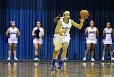 1/7/2017 Mike Orazzi   Staff CCSU's Kiana Patterson during Saturday's women's basketball game with Sacred Heart.