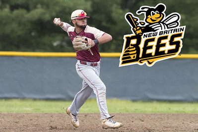 05/14/19  Wesley Bunnell | Staff  Newington baseball defeated New Britain 4-3 in a walk off on Tuesday afternoon at Newington High School. Danniel Rivera (1).
