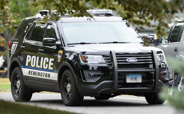 Wesley Bunnell   Staff A Newington Police Car