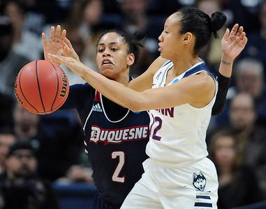NCAA Duquesne UConn Basketball