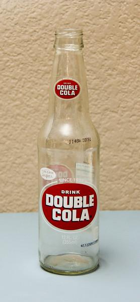 Double-Cola 12 Oz. Bottle (Screw-Top Bottle-Empty)