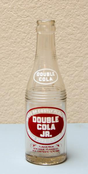 Double-Cola Jr. Bottle (7 1/2 Oz) - Vincennes, IND