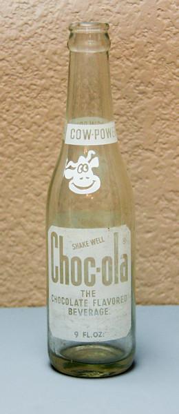 Chocola Chocolate Soda Bottle (9 Oz.)  - Indianapolis, IND