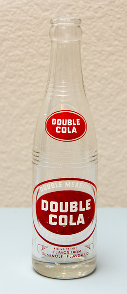Double-Cola 8 Oz. Bottle - New Albany, IND