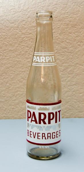 Parpit 7 Oz. Bottle - Newport Bottling Company - Troy, ILL