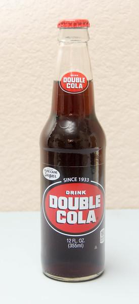 Double-Cola 12 Oz. Screw-Top Bottle (Full)