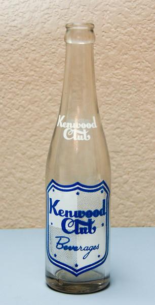 Kenwood Club Beverage Bottle (10 Oz.) - Kenwood Club Bott. Co. - East St. Louis, ILL
