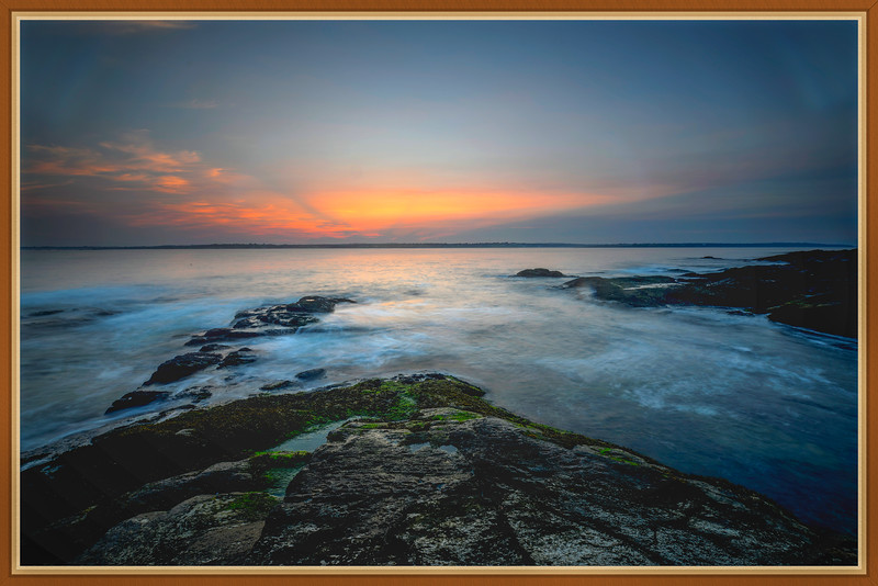 West Passage Sunset, Beavertail Jamestown, RI