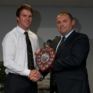 Geraint O'Driscoll - Coaches player of the season. Awarded by Sven Cronk.