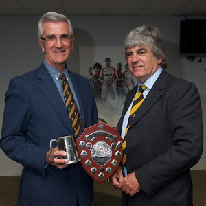 Clubman of the year - Dr David John. Presented by Will Godfrey.