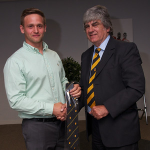 Dan Robinson 20 appearances tie. Presented by Will Godfrey.