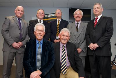Roger Powell, Geoff Evans, Stuart Watkins, Alan Thomas, Gareth Evans, Dick Uzzell & Brian Jones.