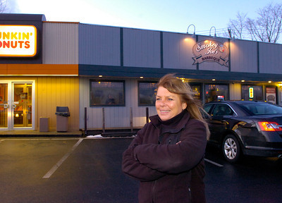 Lynn Lindsay is the manager at newly-opened Smokey Joe's Barbeque in Ballston Spa. Ed Burke 1/27/12