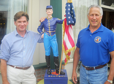 Dan Czech, left, and Lance Ingmire. Paul Post photo 6/29/11
