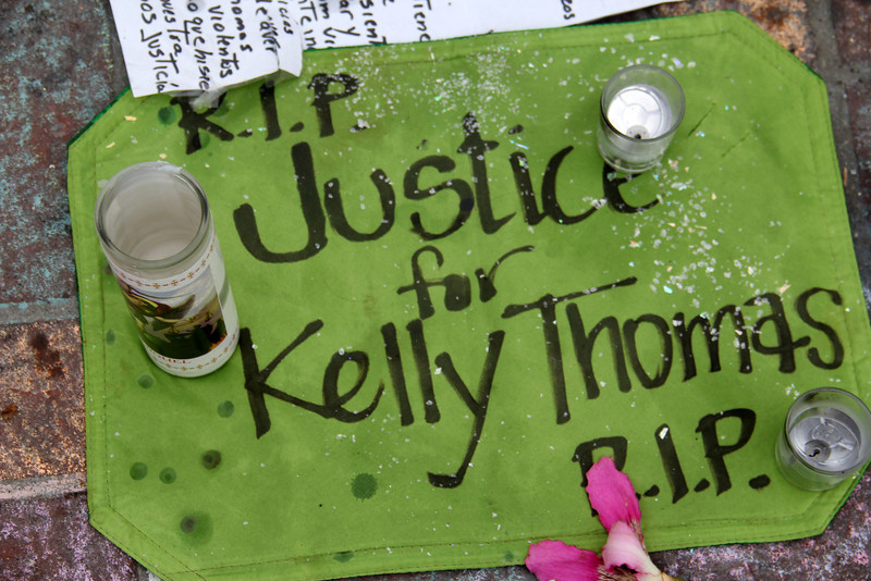 Kelly Thomas Memorial - Fullerton Police Beating