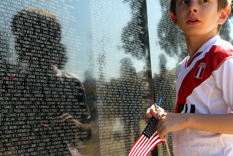 Memorial war wall - The Vietnam War Wall Memorial came to Tri-City park in Placentia Ca –
