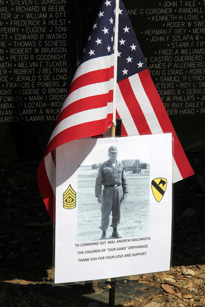 """The traveling  Vietnam War Wall Memorial  Tri-City park in Placentia Ca <br /> """"the wall that heals"""""""