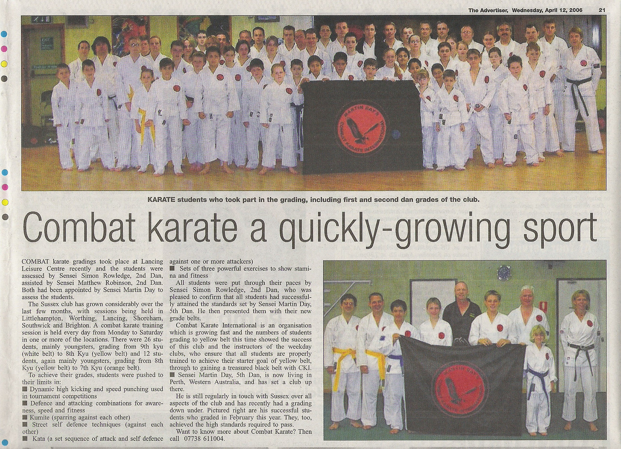 """Combat Karate Training United Kingdom New Clubs"""