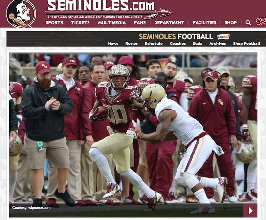 wlpearce.com on Seminoles.com... Again.