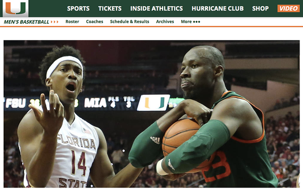 wlpearce.com on HurricaneSports.com