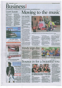 Combat Karate Kids In The News - July 2011