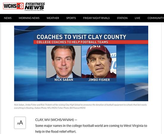 wlpearce.com on TV in West Virginia
