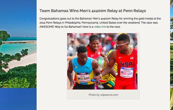 wlpearce.com On The Bahamian Riviera!