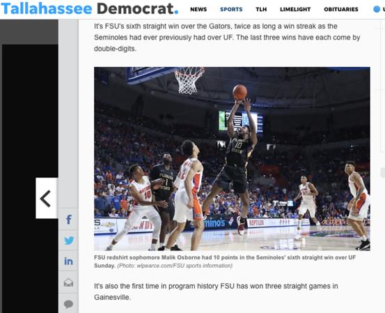 wlpearce.com on The Tallahassee Democrat