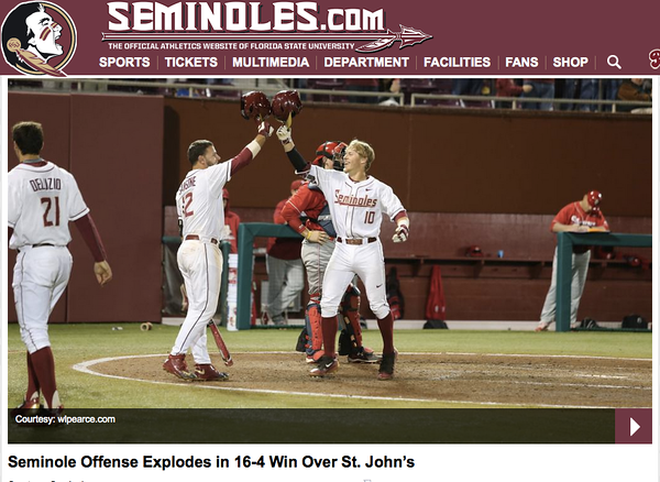 wlpearce.com on Seminoles.com