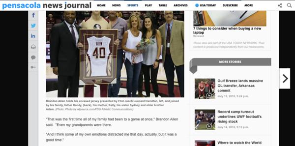 wlpearce.com on The Pensacola News Journal