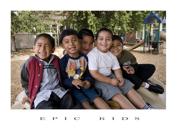 "This photo by Tim Hull, ""Pals,"" is currently hanging in the office of the Director of Head Start in Washington DC. <br /> <br /> Newly appointed Director Yvette Sanchez Fuentes, a former Head Start teacher, will oversee an agency responsible for the education of more than 1 million low-income children at 2,600 Head Start agencies nationwide. She inherits a budget of more than $7.2 billion in fiscal year 2009. <br /> <br /> ""Pals"" is part of a series of pictures titled ""EPIC KIDS"" depicting Head Start children."