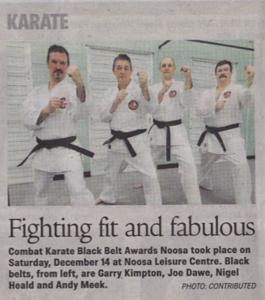 Combat Karate New Black Belts 2013!