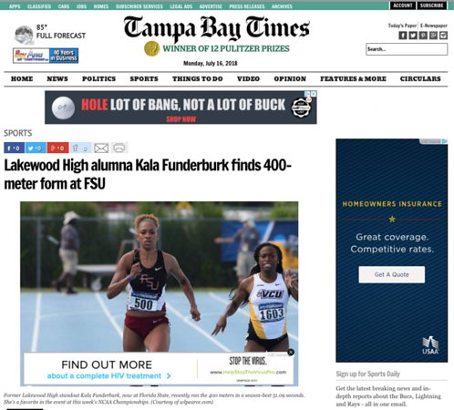wlpearce.com on The Tampa Bay Times