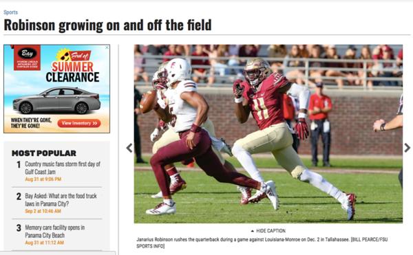 wlpearce.com on The Panama City News Herald