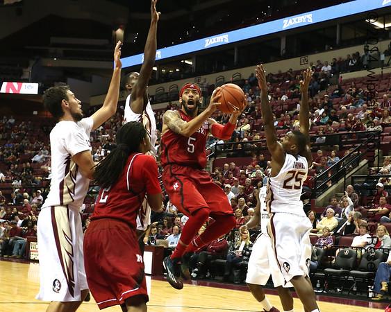 Nebraska at FSU Basketball Uploaded