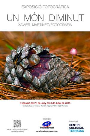 """29 Juny 2015 · 29th June 2015 Exposición """"UN MÓN DIMINUT"""" en el Fotoclub Terrassa (Centre Cultural de Terrassa)  """"UN MÓN DIMINUT"""" exhibition in the Fotoclub terrassa (Centre Cultural de Terrassa)"""