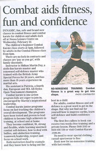 New Combat Fitness & Self Defence & Combat Karate Kids Beginners Classes - Noosa News - February 2012