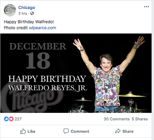 wlpearce.com on Chicago FB