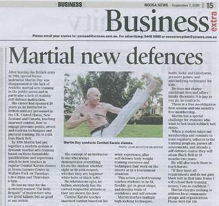 Martial new defences - Noosa News - Business Extra